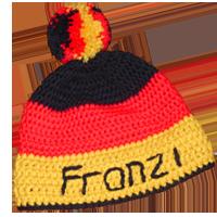 Fankleidung Mütze